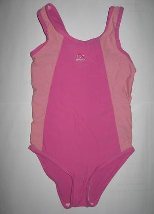 Next спортивный цельный купальник для девочки 5-6лет рост 110-116см