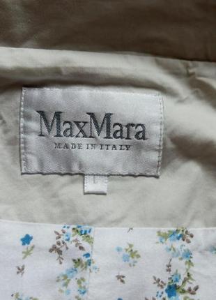Плащ классический max mara