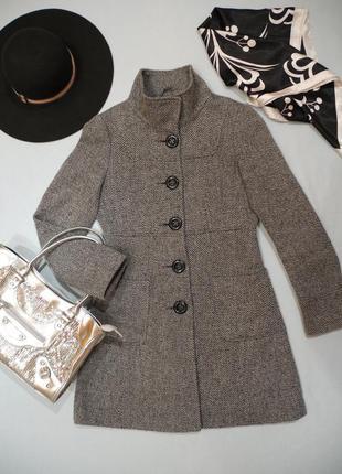 Стильное пальто с шерстью f&f