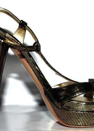 Adele fado италия золотые шикарные босоножки р. 37 золотистые нарядные блестящие