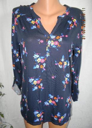 Новая блуза с принтом tu