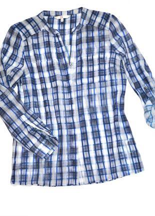 Шифоновая блузка-рубашка от ведущего английского дизайнера jasper conran