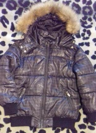 Куртка reserved (синтапон) 128 см, 6-9лет