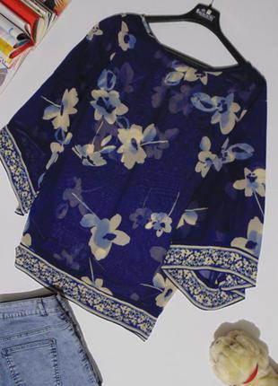 Красивая шифоновая блузочка от wallis
