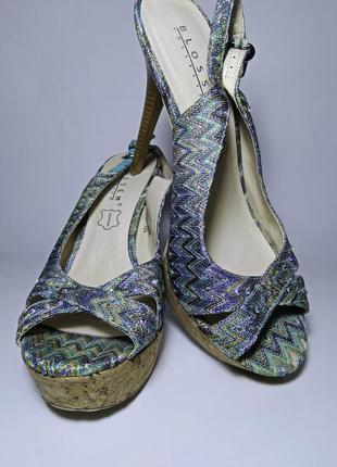 Босоніжки босоножки женские на каблуке шпильке 40 41