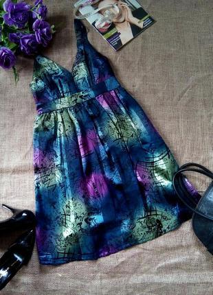 Шикарное нарядное платье миди.