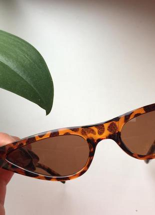 Новые стильные солнечные очки cat eyes 2018