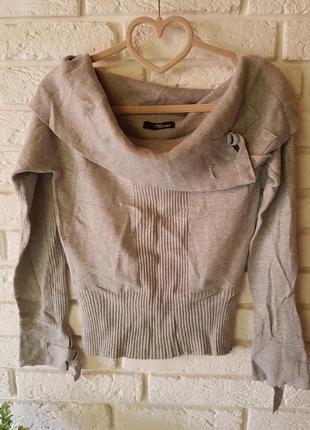 Укороченный свитер от jane norman
