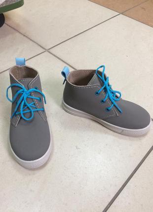 Ботинки-кеды.