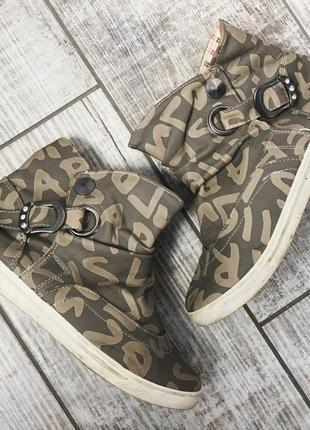 Ботиночки ботинки осень весна лето на дождь 22,5