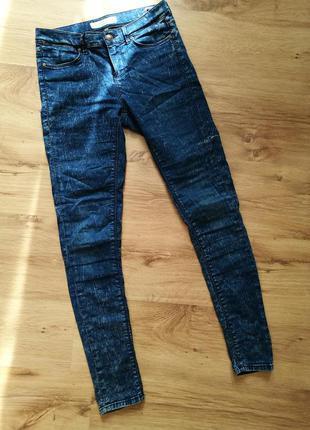 Штаны ,джинсы topshop,высокая посадка