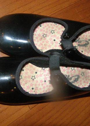 Фирменная обувь для танцев степовки туфли capezio 16,7см стелька