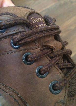 Кожаные оксфорды rockport prowalker