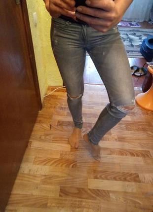 Джинсы h&m super skinny