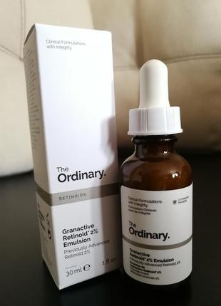 The ordinary granactive retinoid 2% emulsion