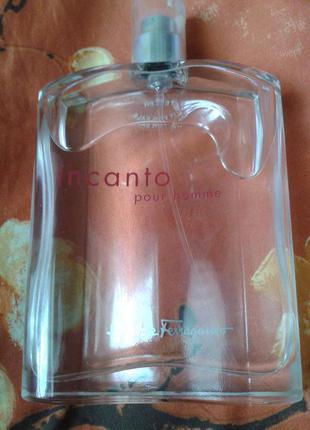 Salvatore ferragamo incanto pour homme, первый выпуск, 100 ml, оригинал, тестер