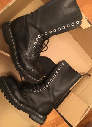 Steel ботинки, берцы, стилы. классическая модель в черном цвете. унисекс.