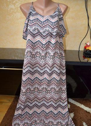 Красивое натуральное платье debenhams