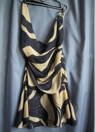 Интересная туника-платье xs-s