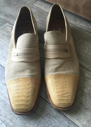 Легендарные мужские туфли moreschi
