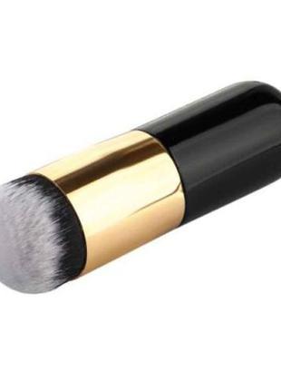 Кисть для макияжа кабуки-бафф - идеальна для тона, коррекции и многого другого!)
