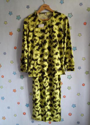 Домашний костюм женский пижама трикотажная
