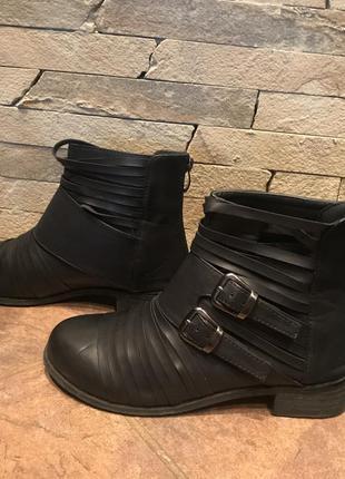 Кожаные ботинки осень/весна