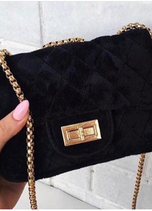 1e258f712bdb Сумочка мини клатч велюр , маленькие сумочки, цена - 436 грн ...