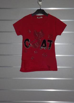 Туника, футболка benini для девочки подростка 140,152,164,176 рост.