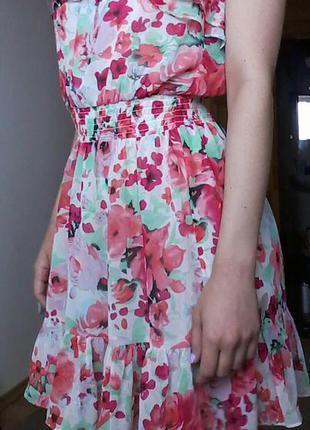 Невероятное воздушное платье h&m