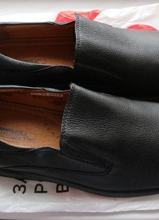 Туфли мужские кожаные el tempo