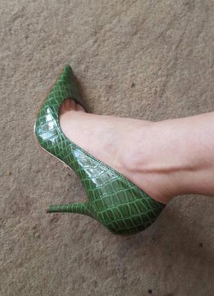 Туфли catwalk {катвалк}, кожа