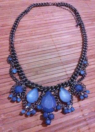 Винтажное ожерелье колье centro