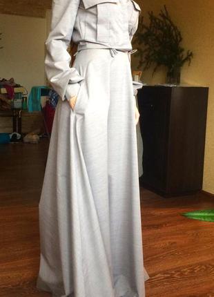 Обалденное длинное платье kriza
