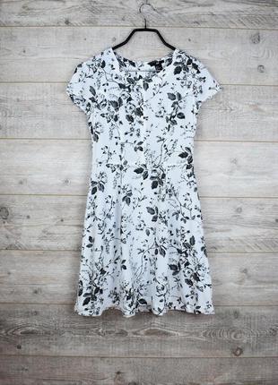Очень красивое платье с цветочным принтом от h&m