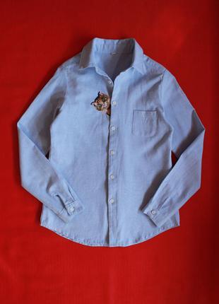 Рубашка с вышивкой,размер xs-s