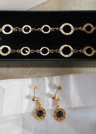 Набор от oriflame серьги и колье, ожерелье