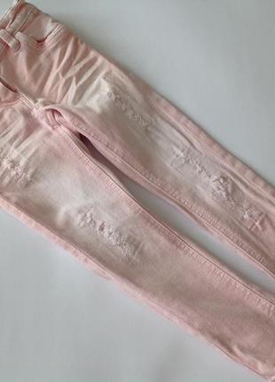 Крутые рваные джинсы некст р.104