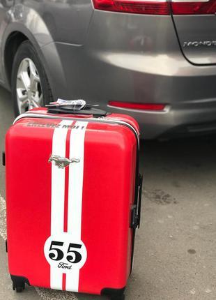 Эксклюзивная модель! чемодан из поликарбоната mustang ford ручная кладь малый чемодан
