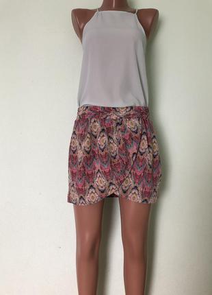 Трендовая юбка мини pull&bear s/m