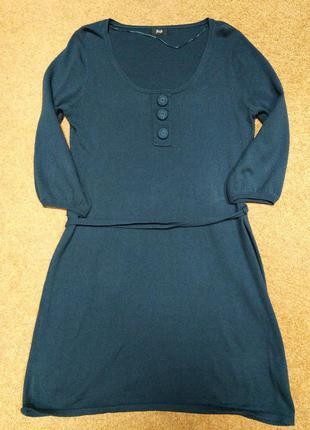 Весеннее платье изумрудного цвета!