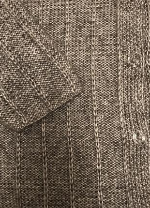Кардиган-кофта серый блестящий5