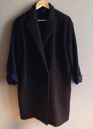 Легкое и модное пальто в стиле boyfriend&oversize