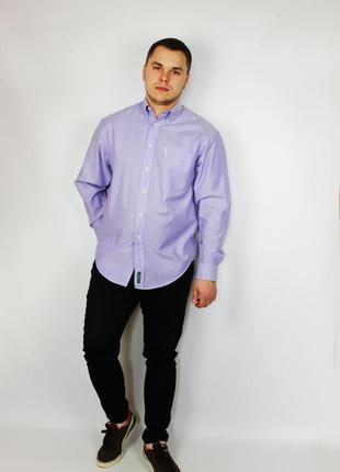Оксфорд oxford классическая мужская рубашка ben sherman
