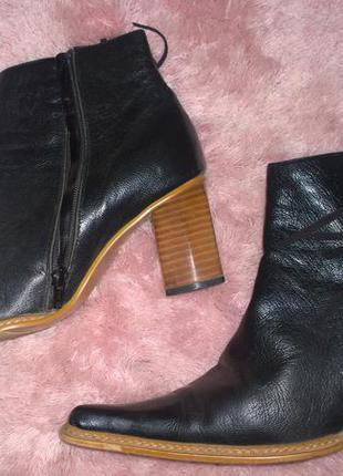 Сапоги на среднем каблуке vero cuoio