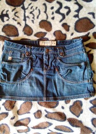 Обалденная джинсовая юбка