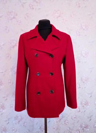 Пальто красное george