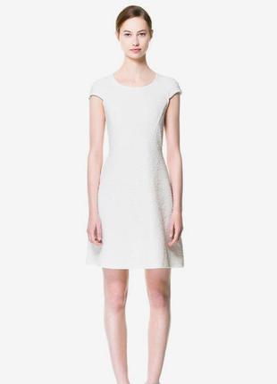 Фактурное платье от zara woman