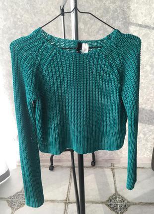 Стильный укороченый свитер от h&m