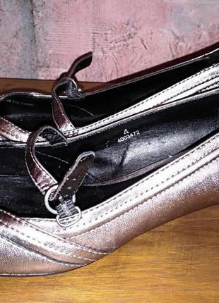 Кожаные туфли footglove, 37р